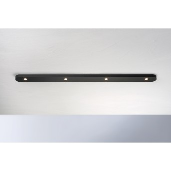 Bopp-Leuchten CLOSE Plafoniera LED Nero, 4-Luci