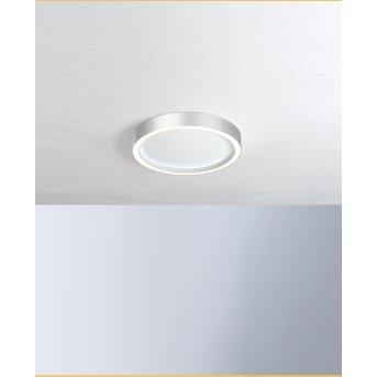 Bopp-Leuchten AURA Plafoniera LED Argento, Bianco, 1-Luce