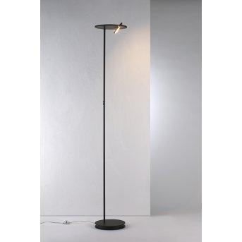 Bopp-Leuchten SHARE Piantana LED Nero, 1-Luce