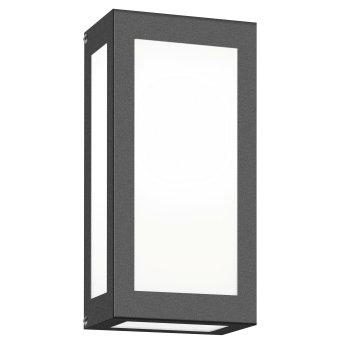 CMD AQUA RAIN Applique da esterno LED Antracite, 1-Luce, Sensori di movimento