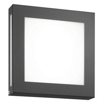 CMD AQUA LEGENDO Applique da esterno LED Antracite, 1-Luce, Sensori di movimento