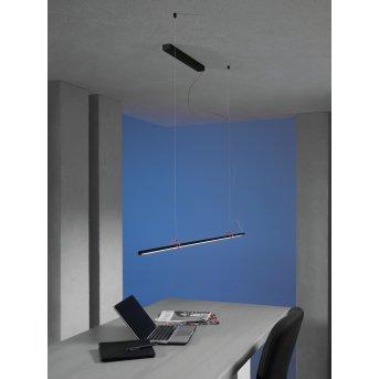 Escale SLIMLINE Lampada a Sospensione LED Nero, 1-Luce
