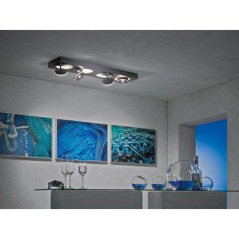 Escale SPOT IT Plafoniera LED Antracite, 4-Luci