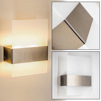 Vara Applique da esterno LED Acciaio inox, 2-Luci