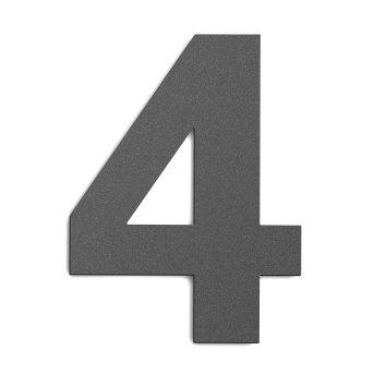 CMD numero civico Antracite