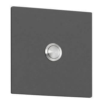CMD Coperchio metallico per campanello Antracite