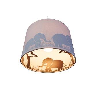 Waldi Elefant Lampada a Sospensione Grigio, 1-Luce