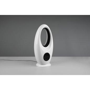 Reality Kalmar Ventilatore da terra LED Nero, Bianco, 1-Luce, Telecomando, Cambia colore