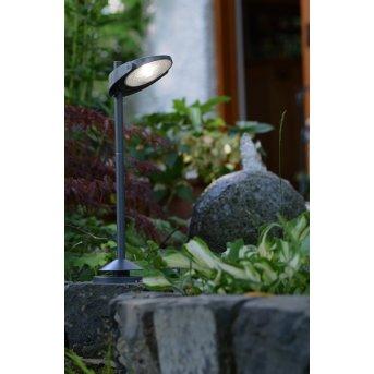 Lutec sun connec Solar STACK Illuminazione viale LED Grigio, 3-Luci