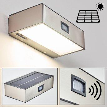 Applique da esterno LED Nichel opaco, 1-Luce