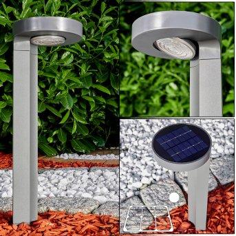 Lampada solare Portmore LED Grigio, 1-Luce