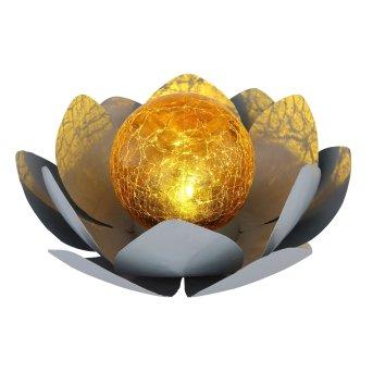 Globo  Lampada solare LED Grigio, 1-Luce