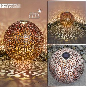 Paradiski Lampada solare LED Argento, Ramato, 1-Luce