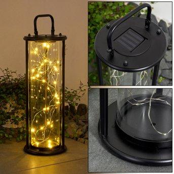 Aracaju Lampada solare LED Nero, 1-Luce