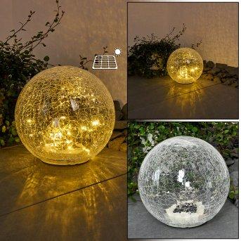 Jurmala Lampada solare LED Chiaro, 1-Luce
