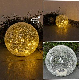 Jurmala Lampada solare LED, 1-Luce