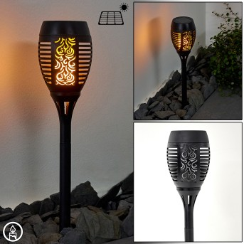 Joinville Lampioncino Segnapasso LED Nero, 1-Luce
