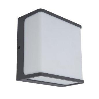 Lutec Doblo Applique da esterno LED Antracite, 1-Luce