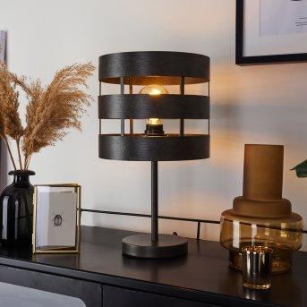 Maracoa Lampada da tavolo Nero, 1-Luce