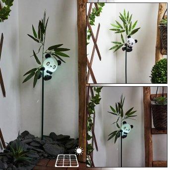 Beo Lampada solare LED Nero, Verde, 1-Luce