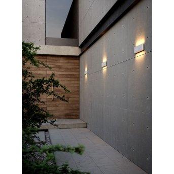 Nordlux KINVER Applique da esterno LED Bianco, 2-Luci