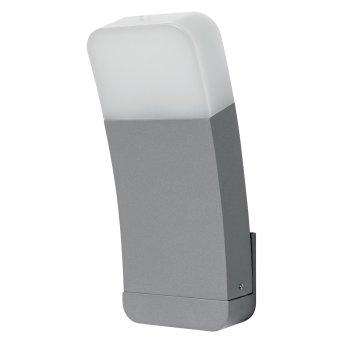 LEDVANCE CURVE Applique da esterno Argento, 1-Luce, Cambia colore