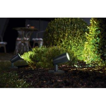 LEDVANCE GARDEN SPOT Applique da esterno Grigio, 1-Luce, Cambia colore