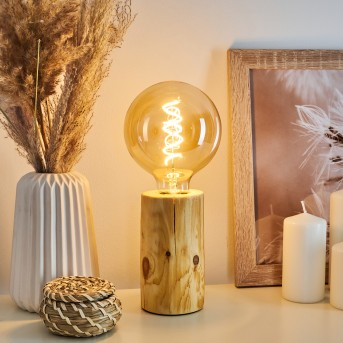 Canedo Lampada da tavolo Marrone, 1-Luce