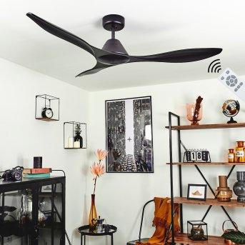 Follseland ventilatore da soffitto Nero, Telecomando