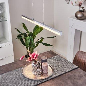 Dawson Lampada a Sospensione LED Cromo, 1-Luce