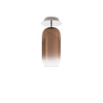 Artemide Gople Mini Plafoniera Alluminio, 1-Luce
