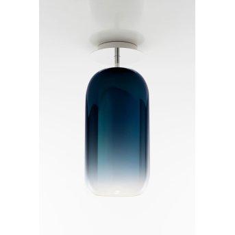 Artemide Gople Plafoniera Alluminio, 1-Luce