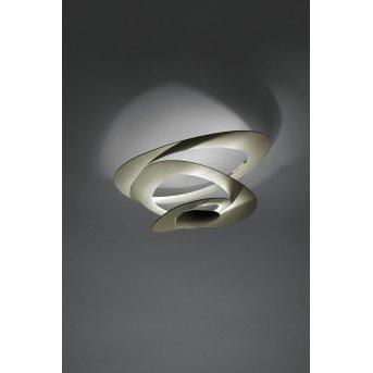 Artemide Pirce Plafoniera LED Oro, 1-Luce