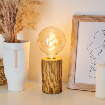 Canedo Lampada da tavolo Nero, Écru, 1-Luce