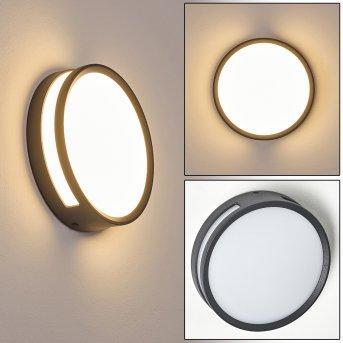 Chiavari Applique da esterno LED Antracite, 1-Luce