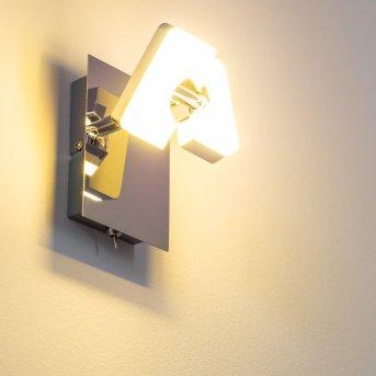 Turin Faretto da parete LED Cromo, 1-Luce