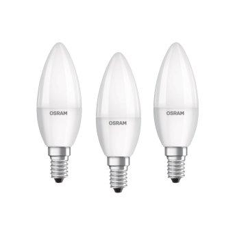 Osram LED E14 5,7 Watt 2700 Kelvin 470 Lumen Confenzione da 3