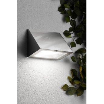 CMD Aqua Peso Applique LED Acciaio inox, 1-Luce