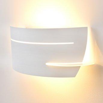 Novara Applique Bianco, 1-Luce