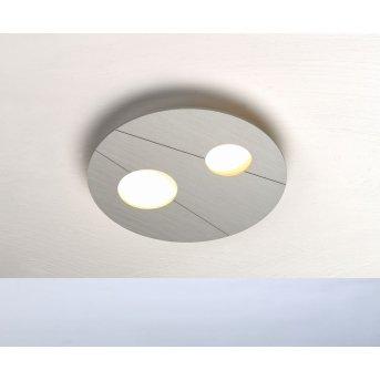 Bopp GRAFICO Plafoniera LED Alluminio, 2-Luci