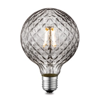 Globo lampadina a LED E27 4 watt 2700 kelvin 230 lumen