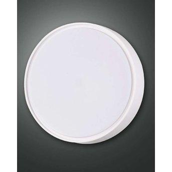 Fabas Luce HATTON Plafoniera da esterno LED Bianco, Sensori di movimento