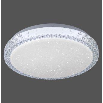 Leuchten Direkt FRIDA Plafoniera LED Trasparente, chiaro, 1-Luce