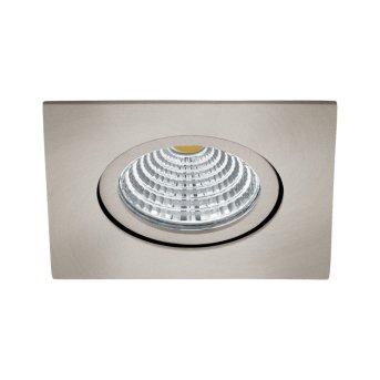 Eglo SALICETO Lampada da incasso LED Nichel opaco, 1-Luce