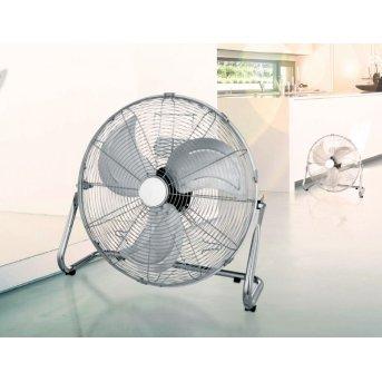 Globo VAN Ventilatore da terra Cromo, Acciaio inox