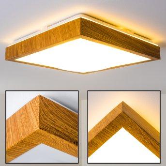 Sora Wood Plafoniera LED Legno chiaro, 1-Luce