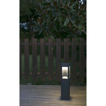 Faro Naya Illuminazione viale LED Antracite, 1-Luce