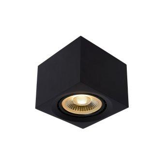 Lucide FEDLER Faretto da soffitto Nero, 1-Luce