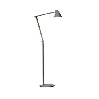 Louis Poulsen NJP Lampada da terra LED Grigio, 1-Luce