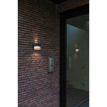 Lutec Lotus Applique da esterno LED Antracite, 1-Luce